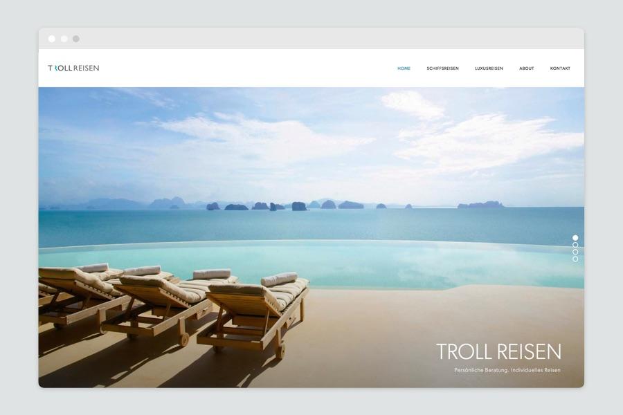 Webdesign München für Luxusreisen