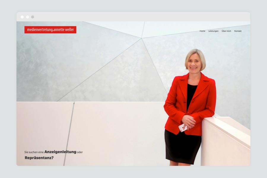 Webdesign München für Medienvertretung