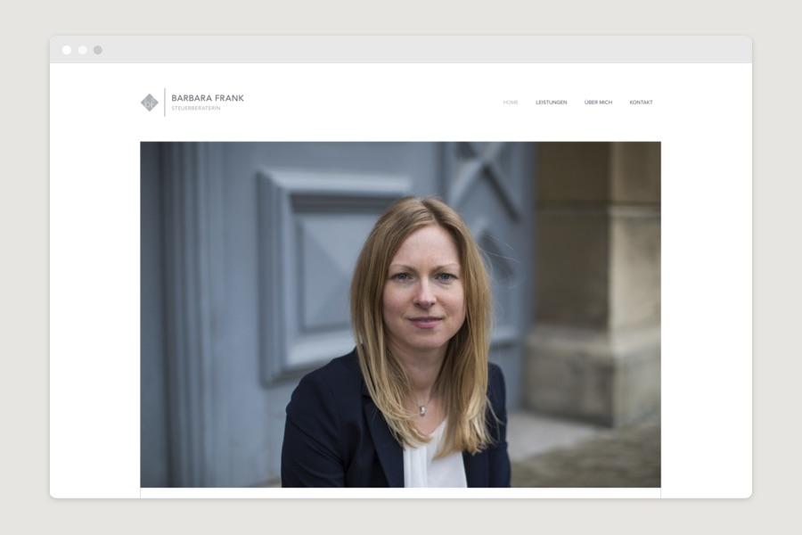 Webdesign München für Steuerberaterin