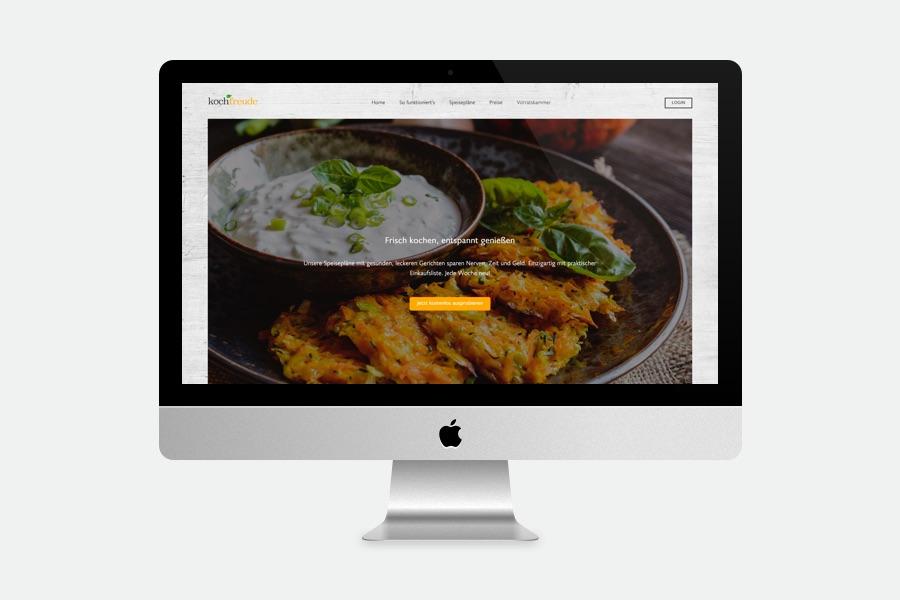 Webdesign München für Wochenspeiseplan