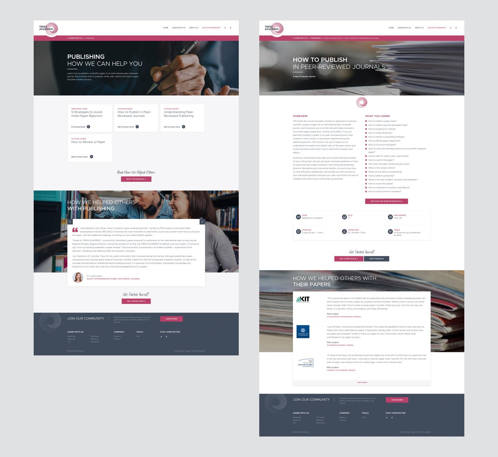 Webdesign München für Akademie