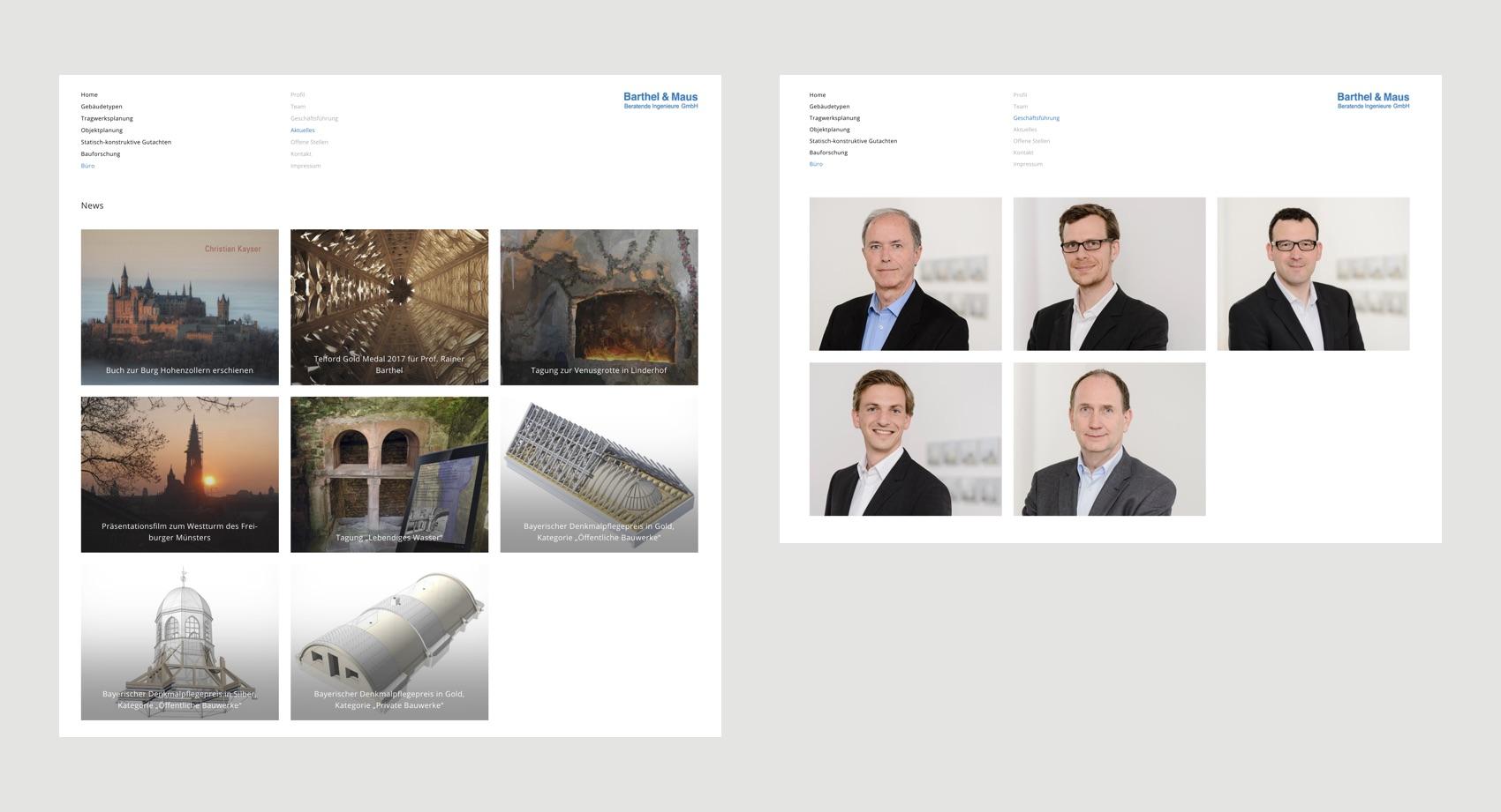 Webdesign München für Architekten und Ingenieure