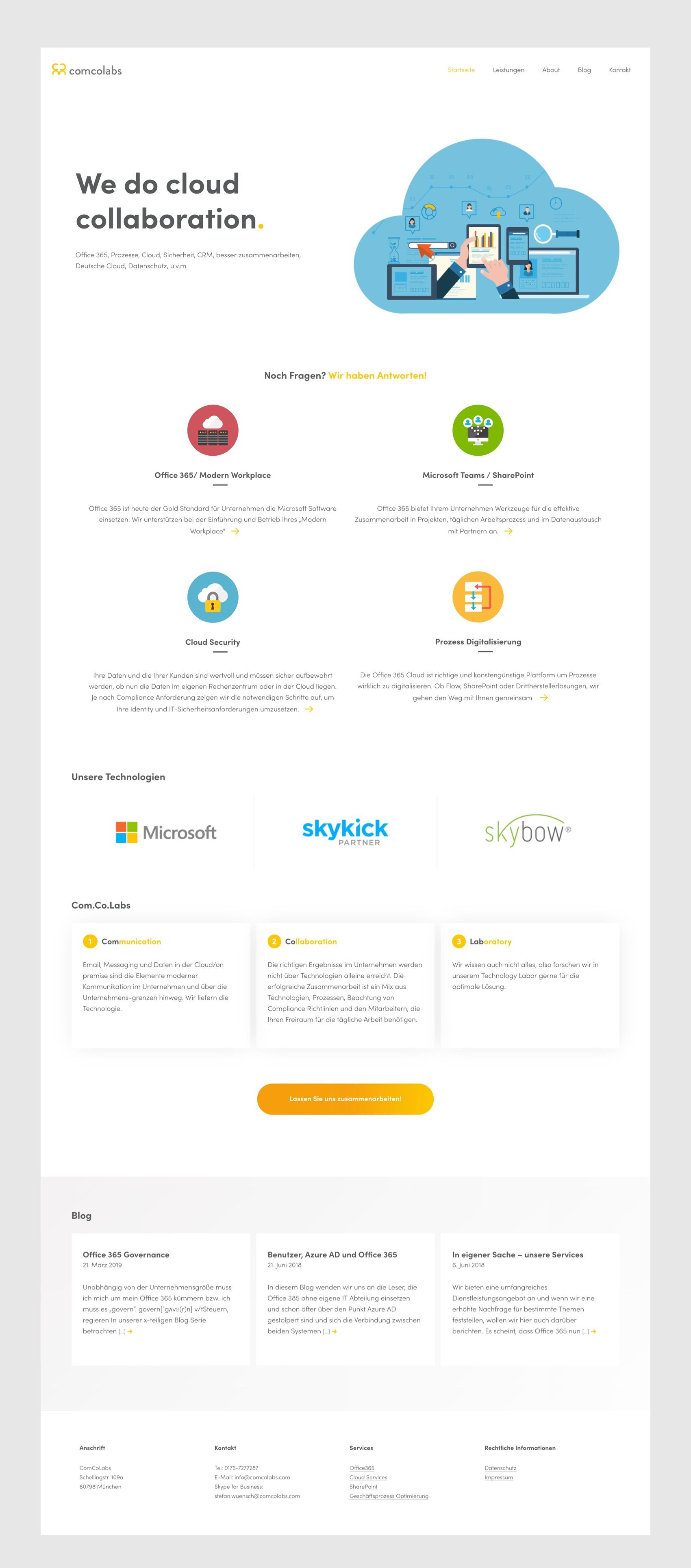 Webdesign München für IT Dienstleister