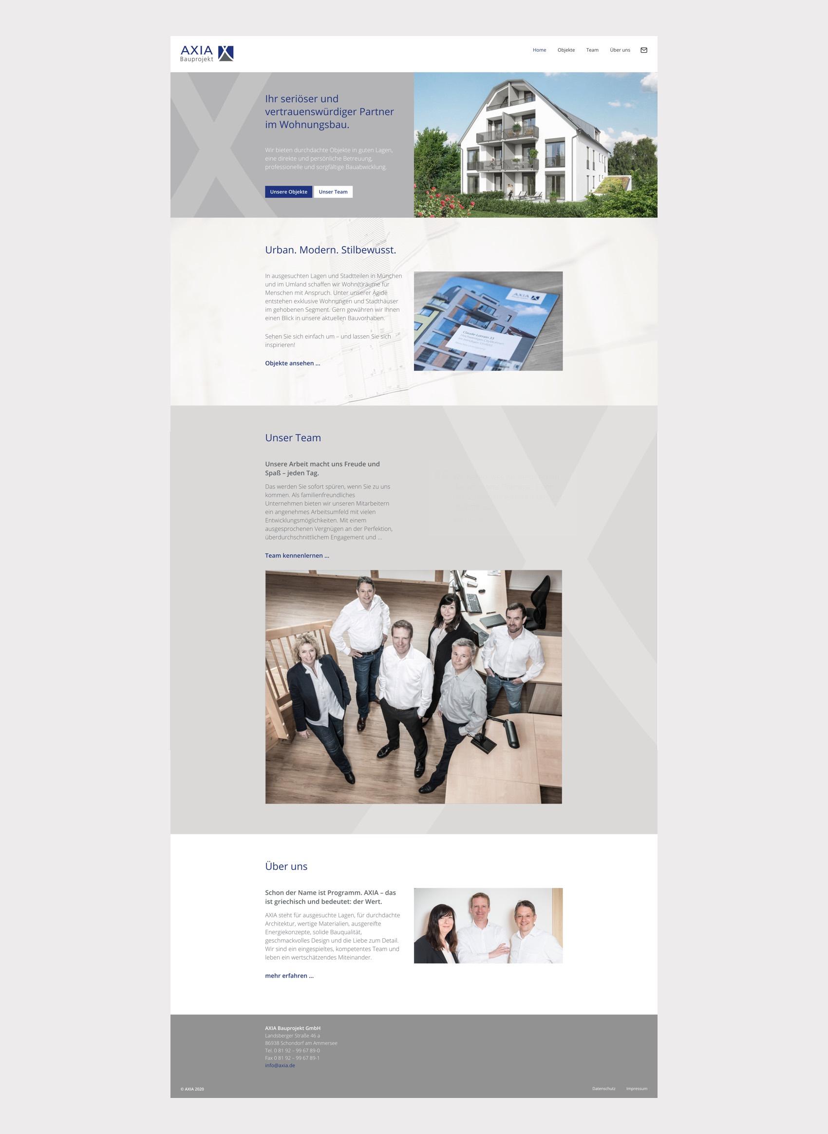 Webdesign München Immoblienvermittlung