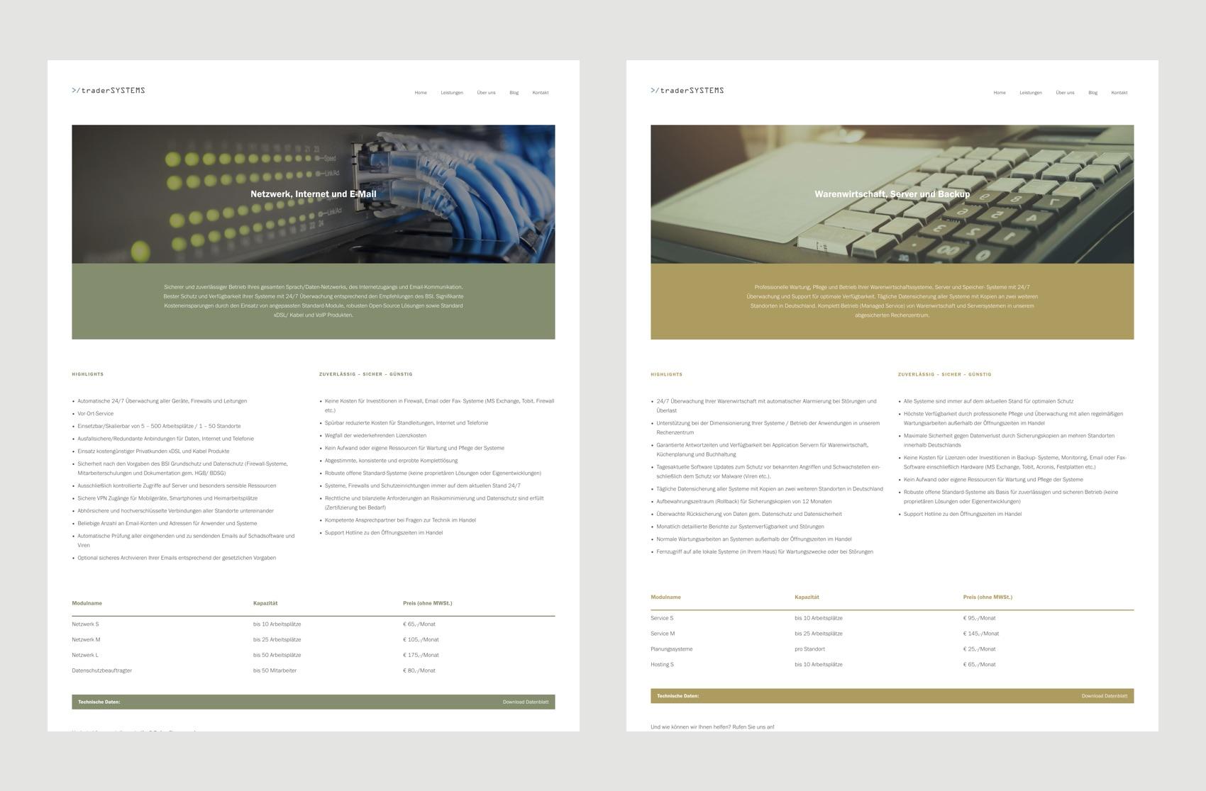 Webdesign München für IT Management