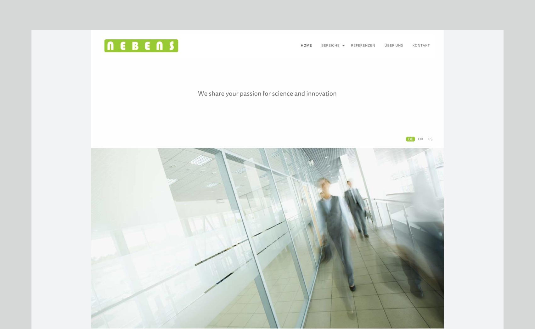 Webdesign München für Anwaltskanlei Patentanwälte