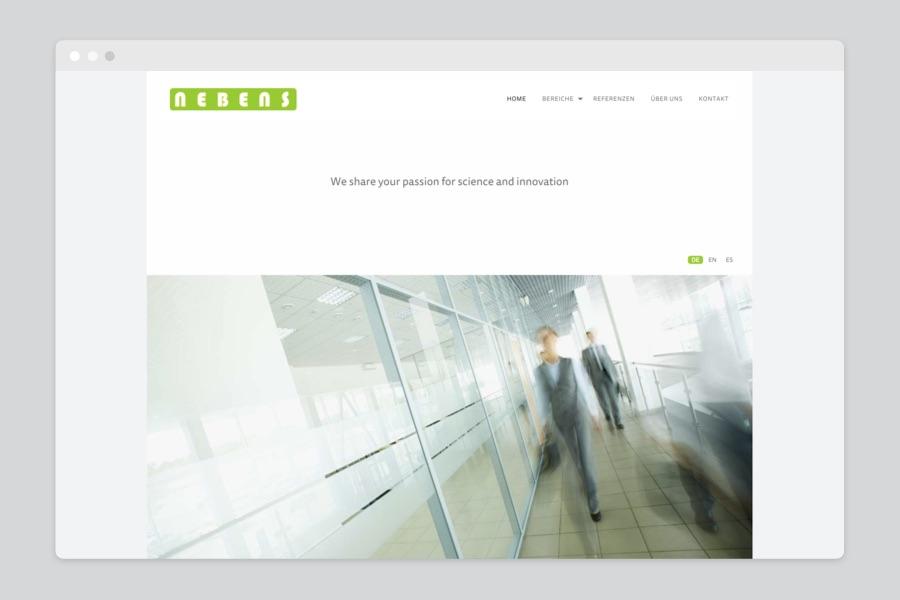 Webdesign für Patentanwalts Kanzlei in München