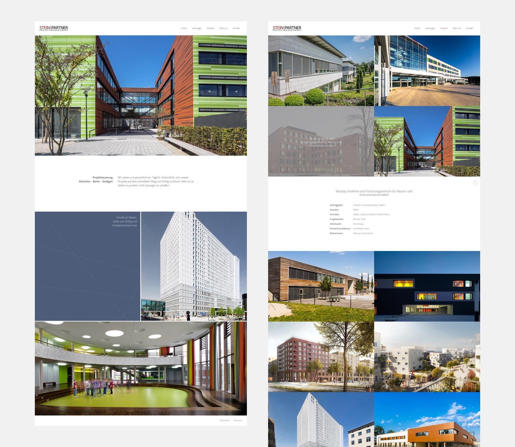 Webdesign München für Projektmanagement