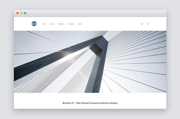 Webdesigner München für IP Anwalt